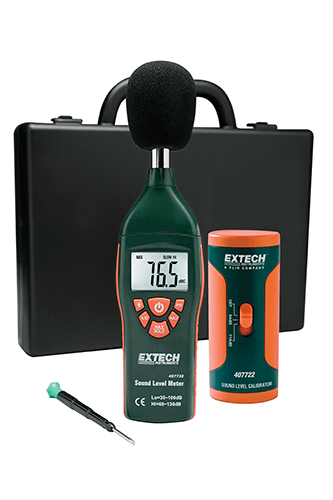 EXTECH 407732-KIT - Type 2 Sound Meter Kit