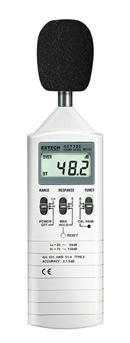 EXTECH 407736 - Dual Range Sound Level Meter