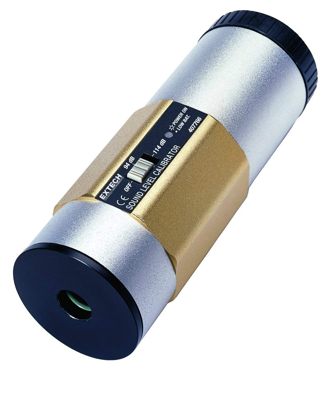 EXTECH 407766 - 94/114dB Sound CalibratorLevel position to select 94dB or 114dB
