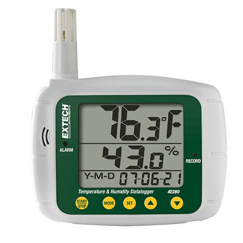 EXTECH 42280 - Temperature and Humidity Datalogger