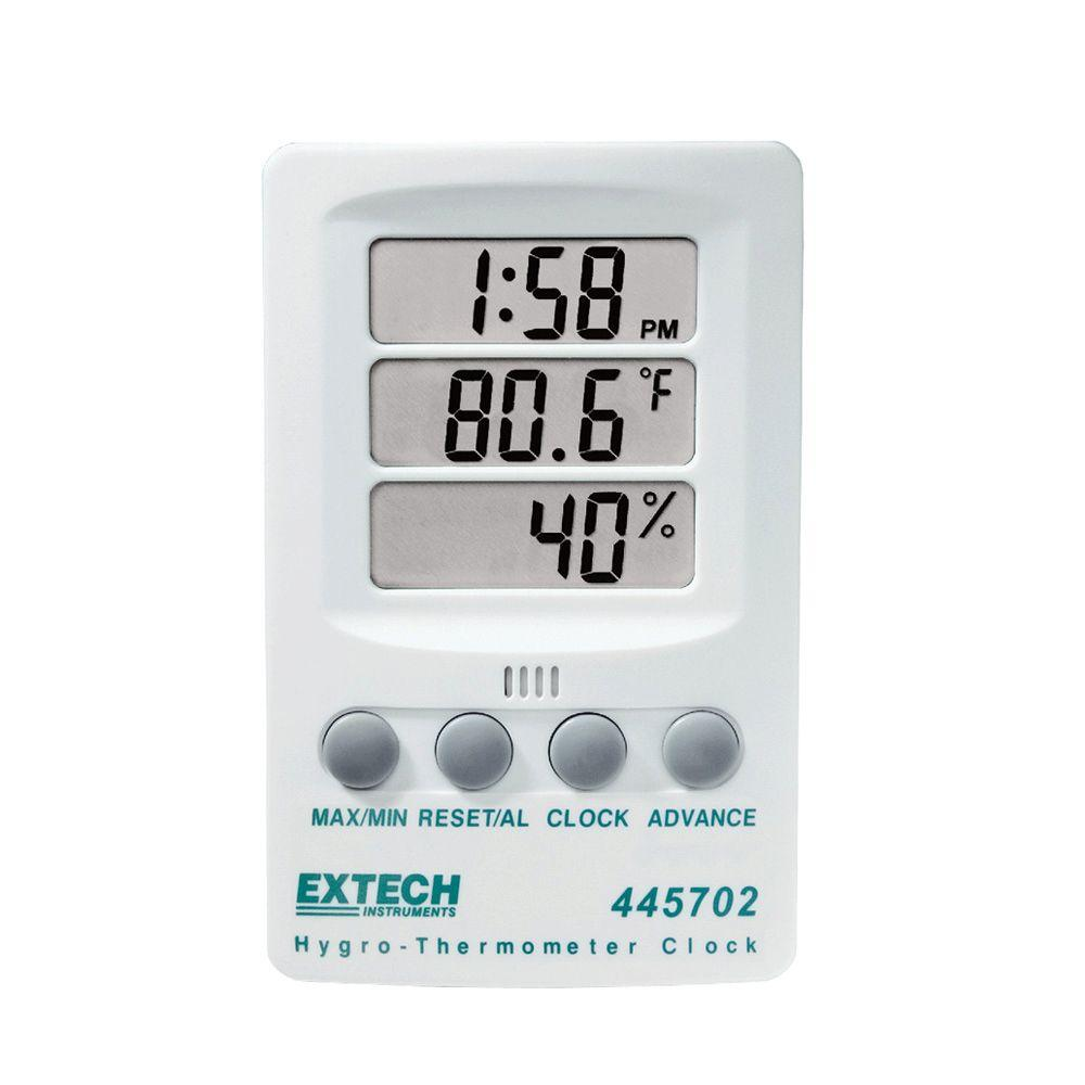 EXTECH 445702 - Hygro-Thermometer Clock