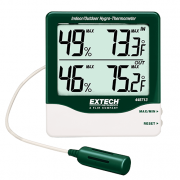 EXTECH 445713 - Big Digit Indoor/Outdoor Hygro-Thermometer