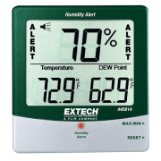EXTECH 445814 - Hygro-Thermometer Humidity Alert w/Dew Point