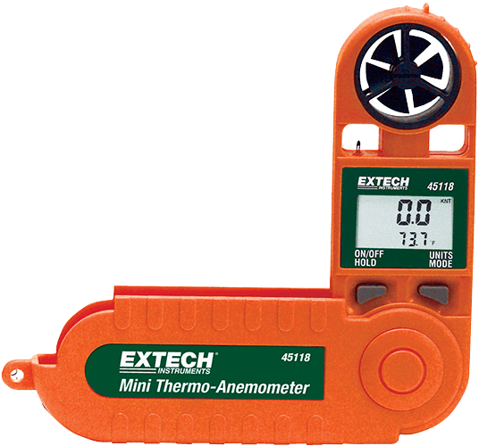 EXTECH Mini Thermo Anemometer in Dubai,UAE - 45118 from AABTools