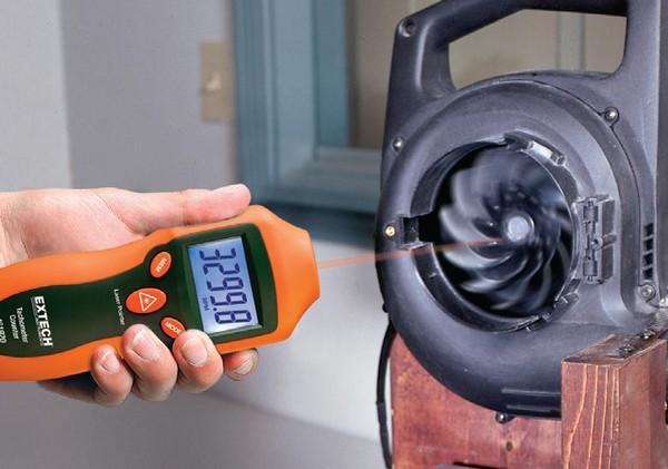 EXTECH 461920 - Mini Laser Photo Tachometer Counter