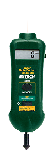 EXTECH 461995 - Combination Contact/Laser Photo Tachometer