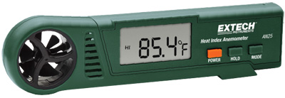 EXTECH AN25 - Heat Index Anemometer