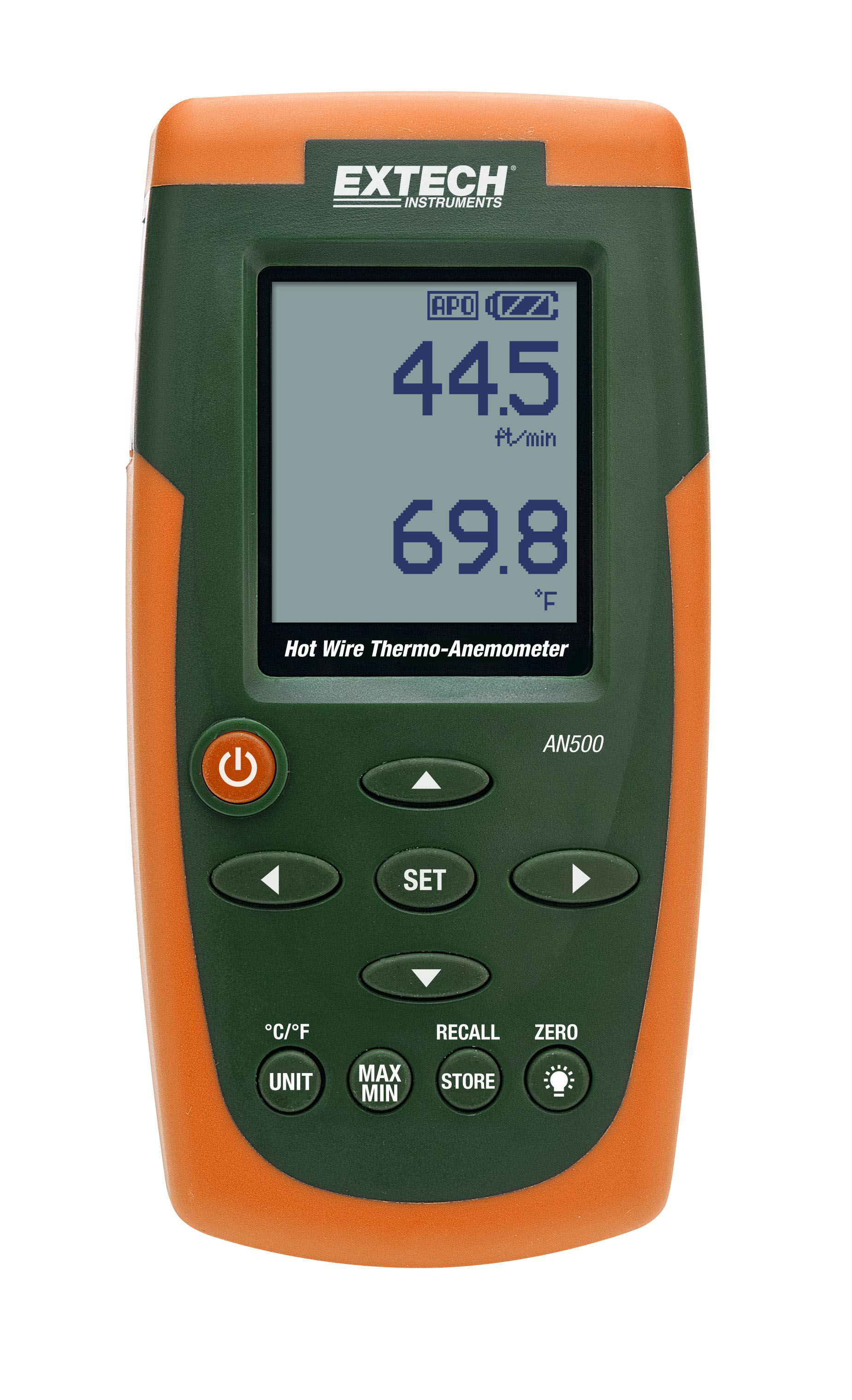 EXTECH AN500 - Hot Wire CFM/CMM Thermo-Anemometer