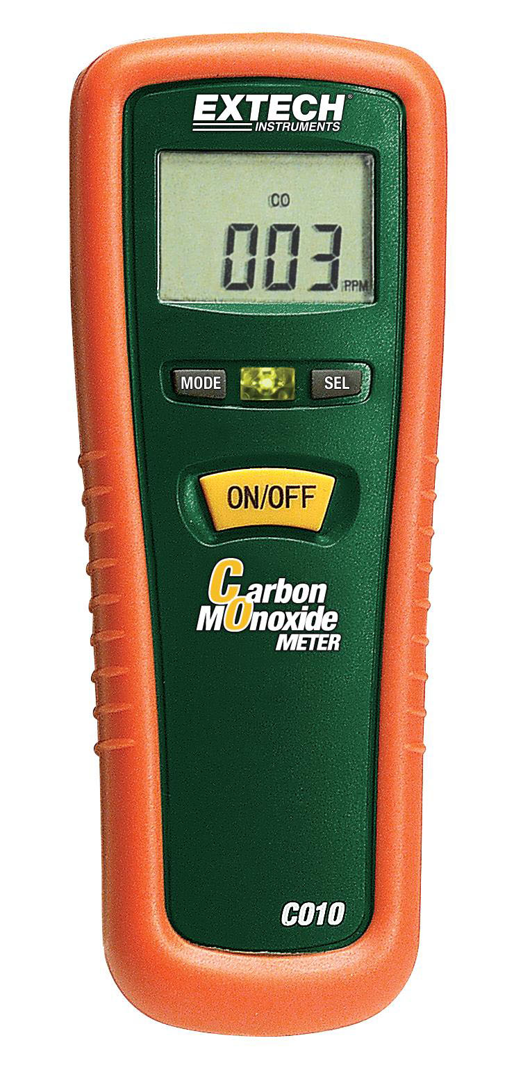 EXTECH CO10 - Carbon Monoxide (CO) Meter