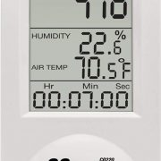 EXTECH CO220 - Desktop Indoor Air Quality CO2Measures Carbon Dioxide (CO2) / Calculates Dew Point and Wet Bulb values