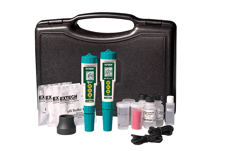 EXTECH DO610 - ExStik® II DO/pH/Conductivity Kit