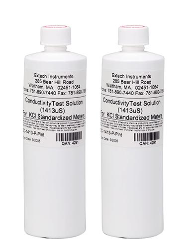 EXTECH EC-1413-P - 12880µS Conductivity Standard (2 Bottles)