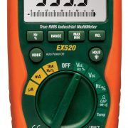 EXTECH EX520 - 11 Function Heavy Duty True RMS Industrial MultiMeter