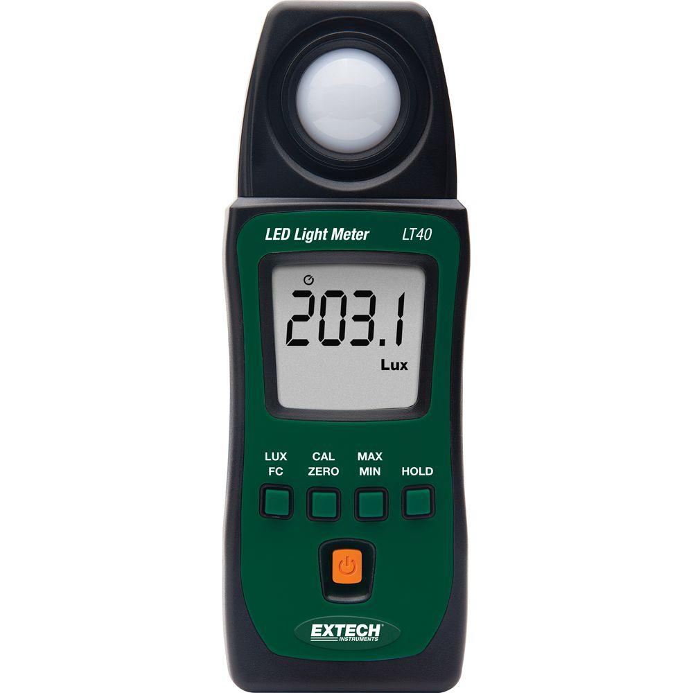 EXTECH LT40 - LED Light Meter 4000Count