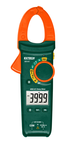EXTECH MA440 - 400A AC Clamp Meter + NCV
