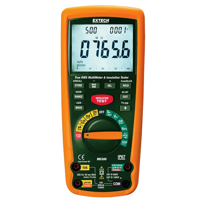 EXTECH MG302 - True RMS Multimeter/Insulation Tester