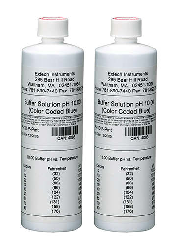 EXTECH PH10-P - 10pH Buffer Solution (2 Bottles)