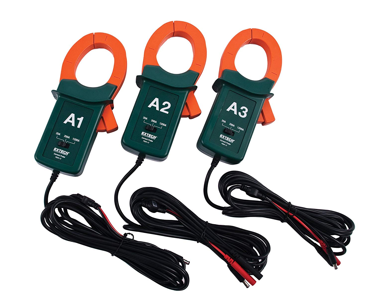 EXTECH PQ34-12 - 1200A Current Clamp Probes