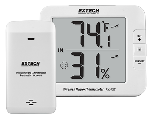 EXTECH RH200W - Multi-Channel Wireless Hygro-Thermometer