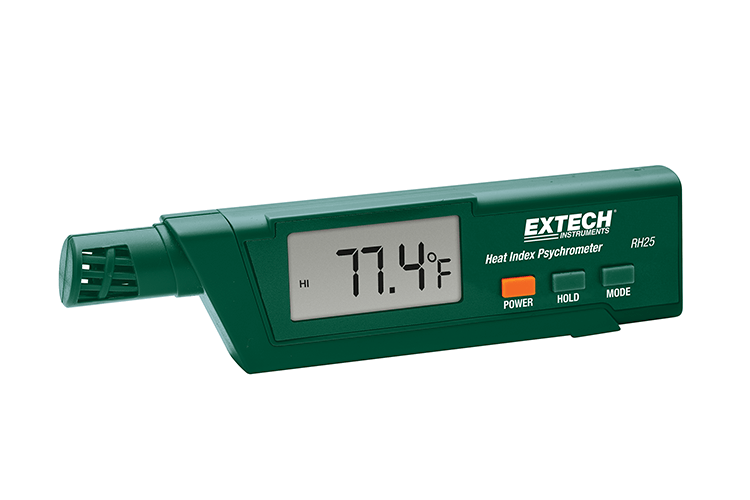 Heat Index Psychrometer -4 to 122°F (-20 to 50°C)