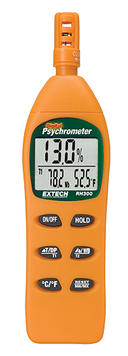 EXTECH RH300 - Hygro-Thermometer Psychrometer