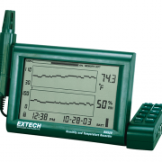 EXTECH RH520A - Humidity+Temperature Chart Recorder with Detachable Probe