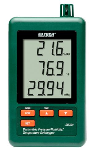 EXTECH SD700 - Barometric Pressure/Humidity/Temperature Datalogger