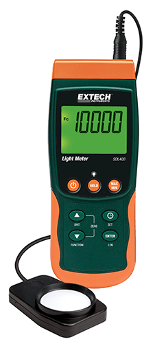 EXTECH SDL400 - Light Meter/Datalogger