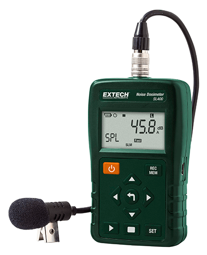 EXTECH SL400 - Noise Dosimeter with USB Interface