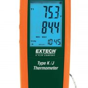 EXTECH TM100 - Type K/J Single Input Thermometer