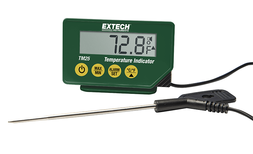 EXTECH TM25 - Compact Temperature Indicator IP65