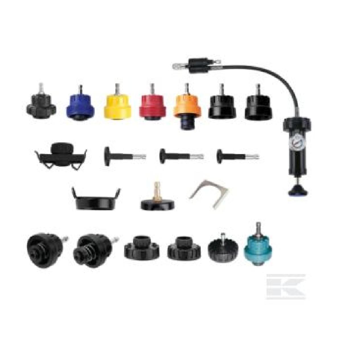- Radiator pressure tester kit
