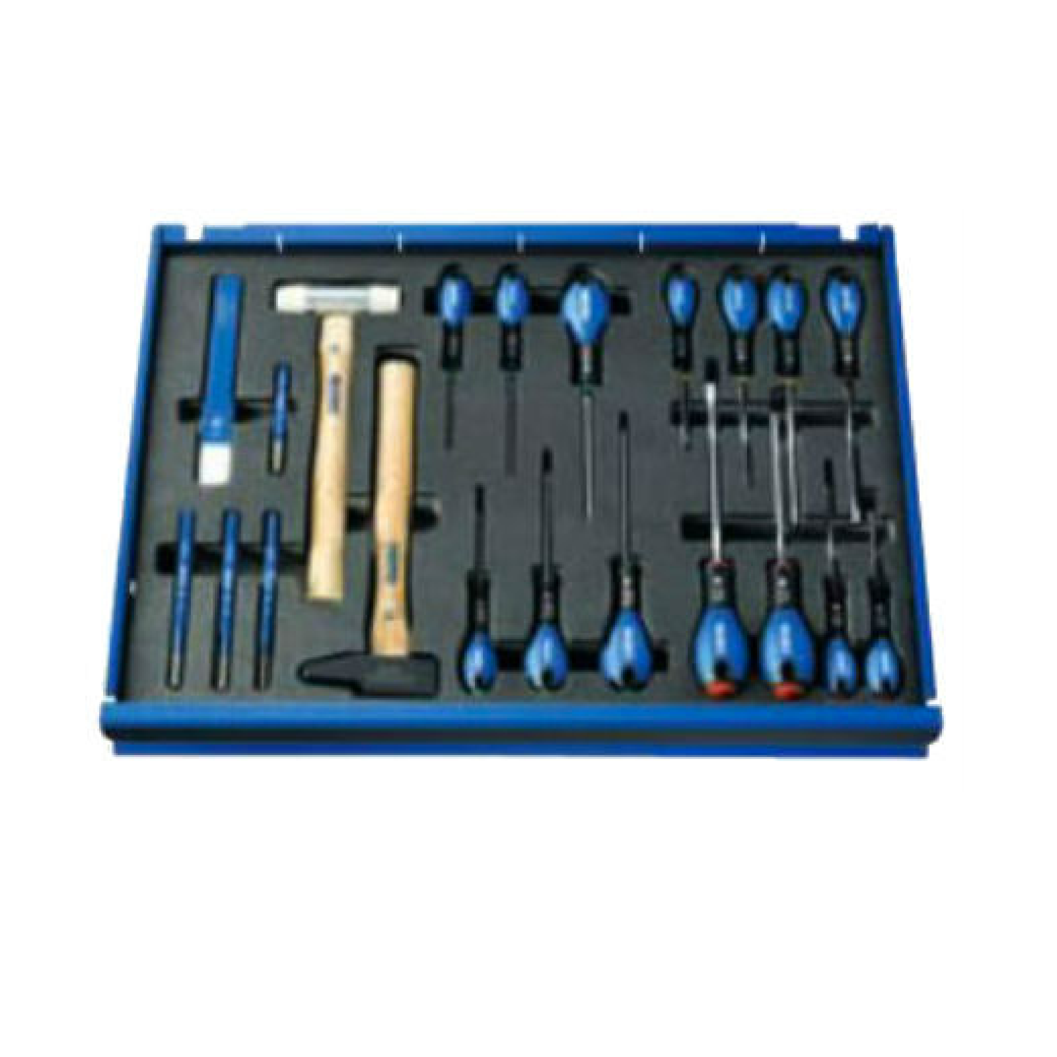 EXPERT E220365 - 7Drawer Roller Cabinet with 208Piece Tool Set