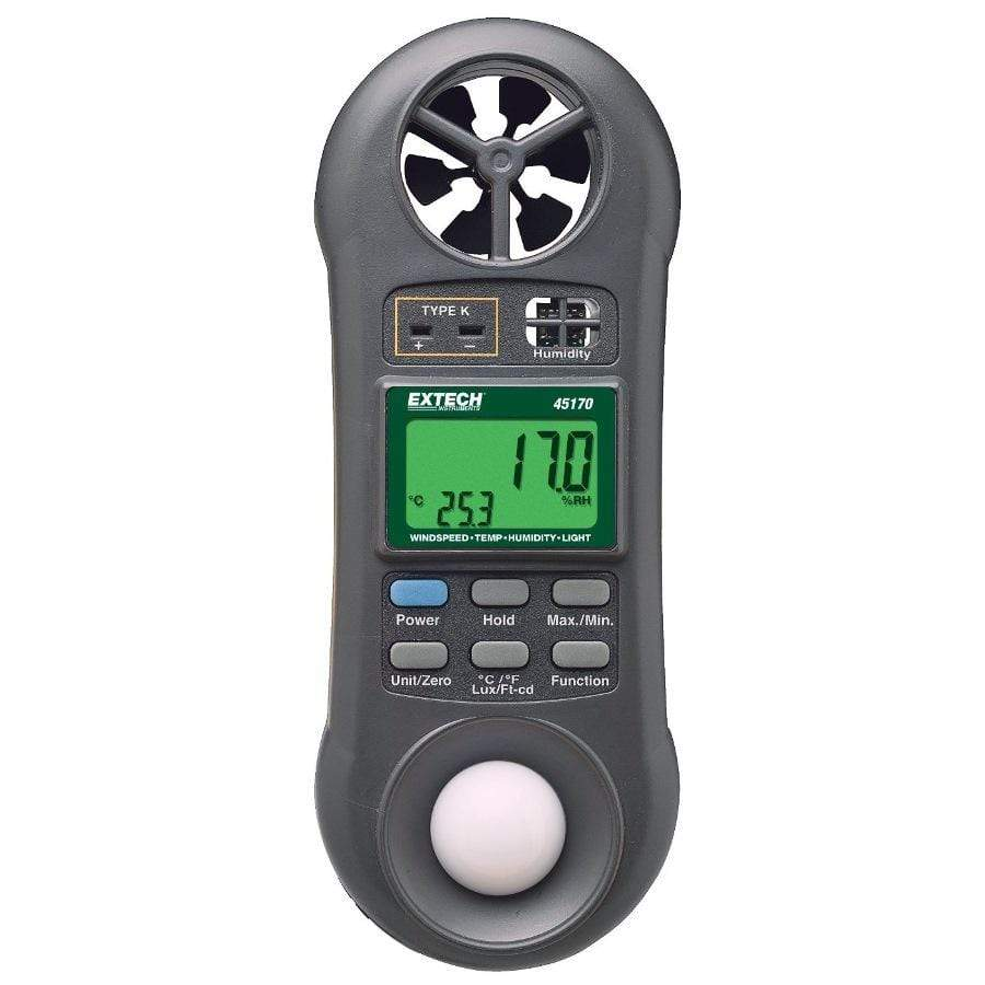 EXTECH 45170 - 4-in-1 Pocket-size Environmental Meter