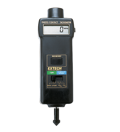 EXTECH 461895 - Combination Contact/Photo Tachometer