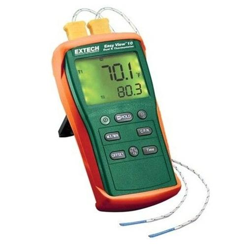 EXTECH EA10 - EasyView Dual Input Thermometer