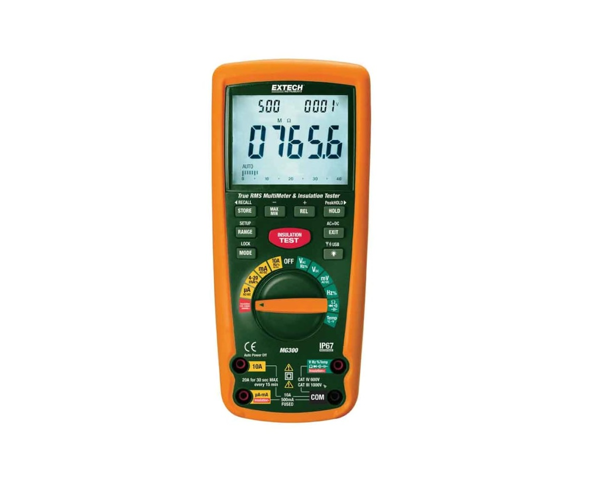 Extech_MG300_Cat-IV Insulation Tester 1