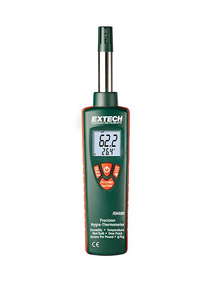 EXTECH RH490 - Precision Hygro-Thermometer