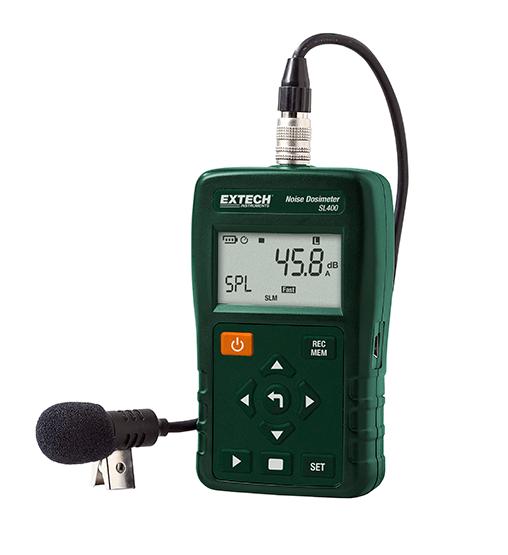 EXTECH SL400 - Noise Dosimeter with USB Interface