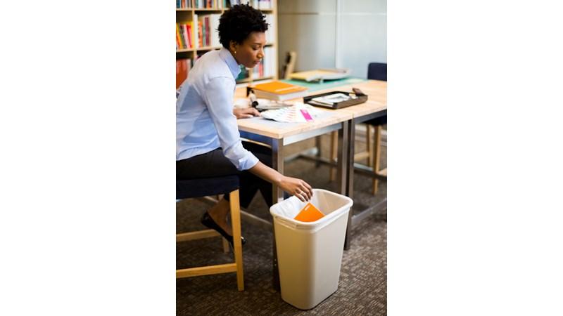 RUBBRMAID_FG295700BEIG_Waste Basket - Waste Basket Large 41Cap- Beige