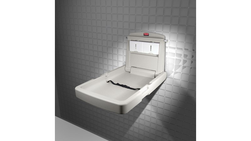 RUBBERMAID_FG781988LPLAT_Baby Changing Station Vertical - Vertical  Baby Changing Station