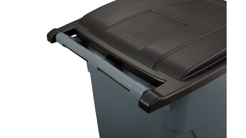 RUBBERMAID_FG9W2700GRAY_Rollout Container - Rollout Bin- 189ltr/50gal