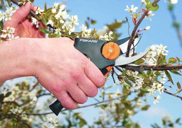 FISKARS_111520_Bypass Pruner M - Power Gear Bypass Pruner Medium