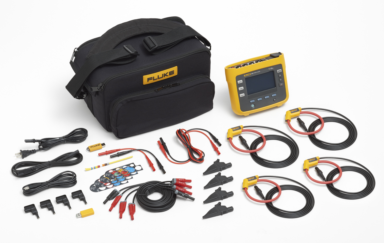 FLUKE 1738-INTL - 3Phase Power Logger; Network Analyzer; Advance