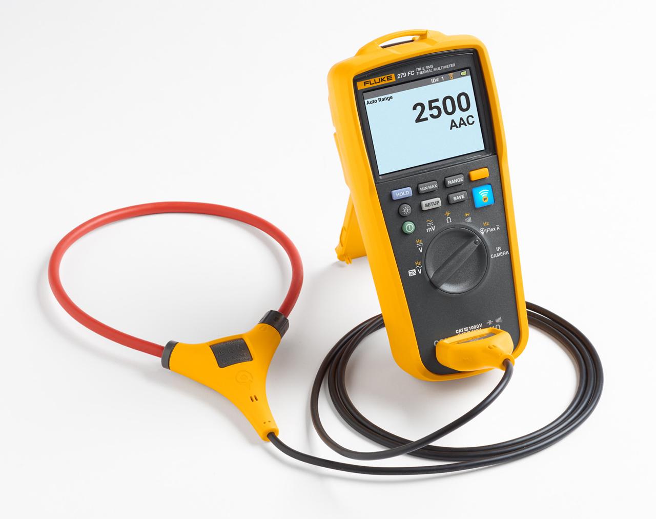 FLUKE Full Featured Digital Multimeters in Dubai,UAE - 279FC-IFLEX from AABTools