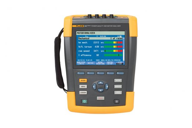 FLUKE 438-II-INTL - Power Quality & Motor Analyzer