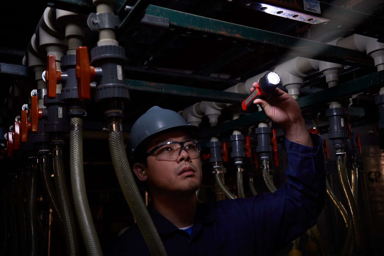 FLUKE FL-150 EX - 150 lumen intrinsically safe flashlight
