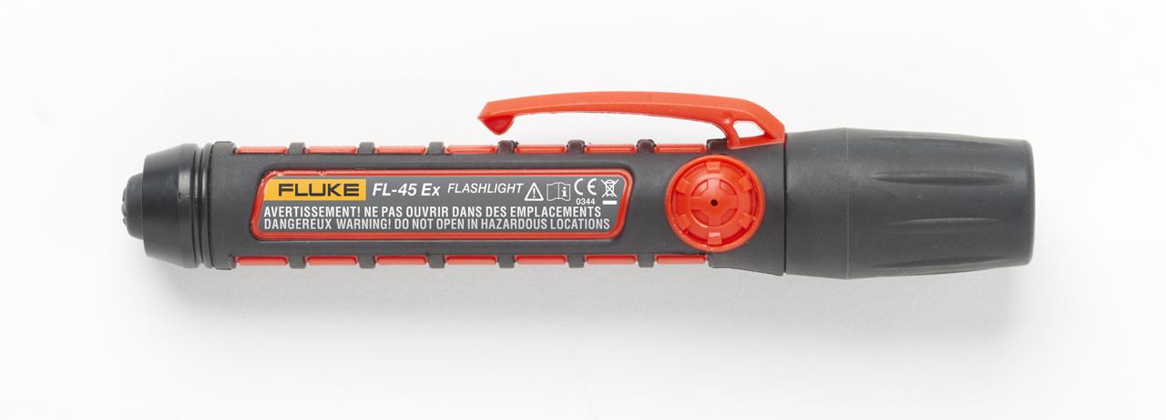 FLUKE FL-45 EX - 45 lumen intrinsically safe flashlight