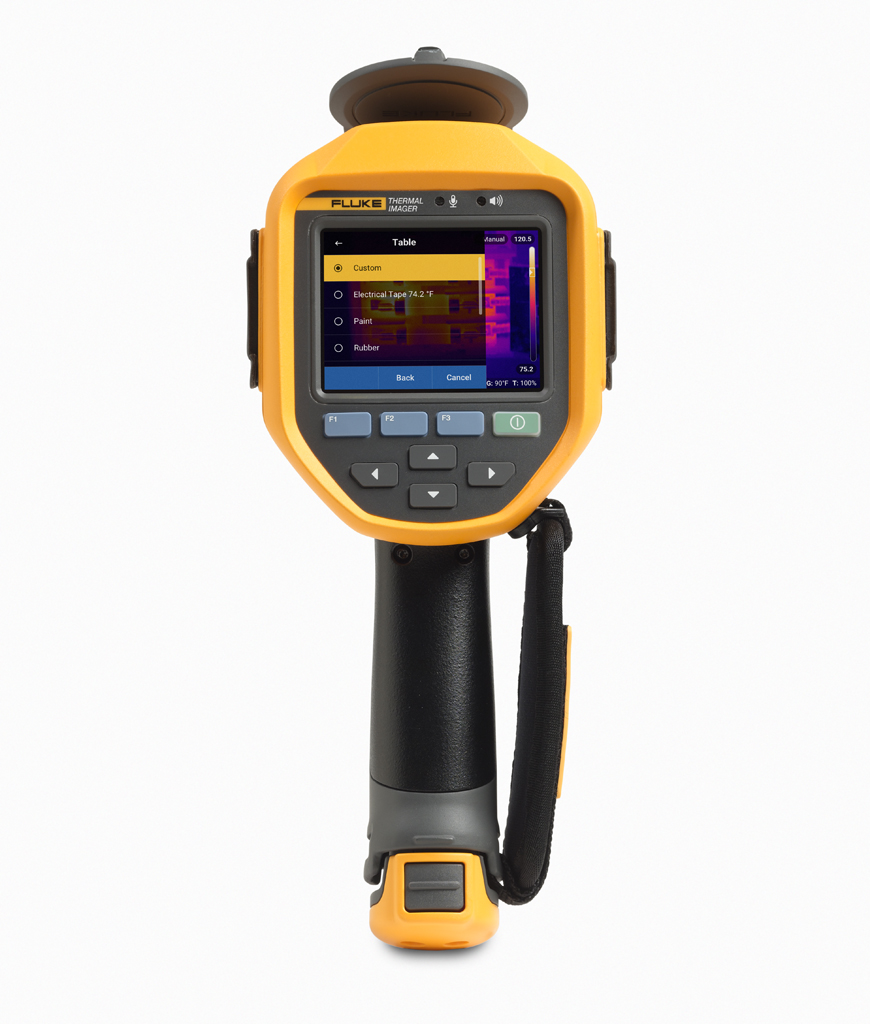 FLUKE TI400PRO 9HZ - Thermal Imager 9Hz – 320×240( 76,800 Pixels)