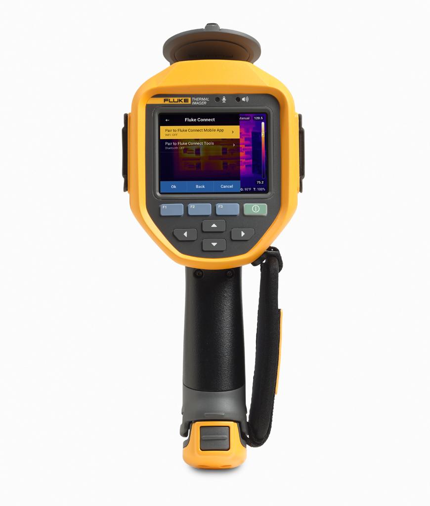 FLUKE Ti450 PRO 9HZ - 9HZ Thermal Imager 320X240